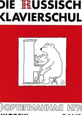 Klavier Noten Schule : Die Russische Klavierschule Band 1   Anfänger - SIK 2353