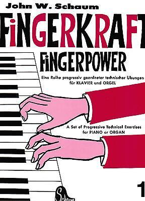 Klavier Noten : SCHAUM Fingerkraft Fingerpower 1 sehr leicht Anfänger - B-WARE