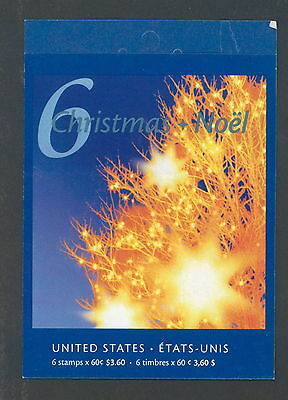 Canada 2001 Christmas Lights # 1923 A Booklet BK249 MNH