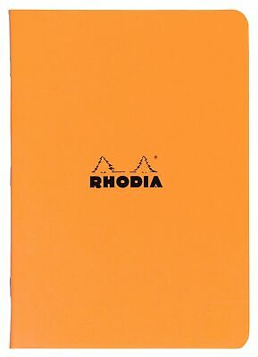 Rhodia Staplebound Notebook 8 14 X 11 34 Lined Orange