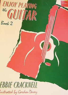 Enjoy Playing the Guitar Book 2 Tutor Debbie Cracknell  Guitar