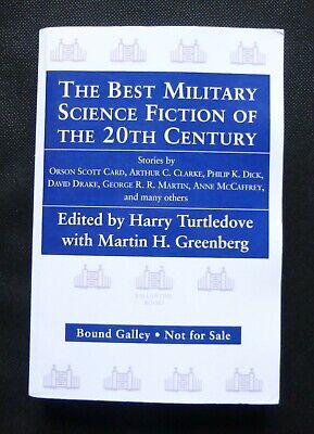 BEST MILITARY SCI FI George R R Martin US PROOF / ARC Dick Haldeman Clarke (Best Military Sci Fi)