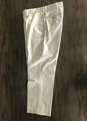 NWT POLO GOLF RALPH LAUREN Barrow  Cotton Flat Front Chino Pants 40 x 30
