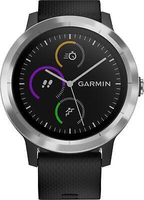 *NEW*Garmin VivoActive 3 Smartwatch - Black/Stainless Steel*