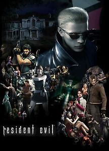 RESIDENT EVIL A3 WALL POSTER PRINT ART REW01- BUY 2 GET 3RD FREE