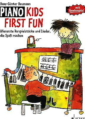 Klavier Noten : Piano Kids FIRST FUN sehr leicht - leicht HEUMANN