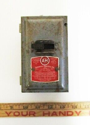 Vintage Arrow Hart Electric 2 Hp Motor Switch
