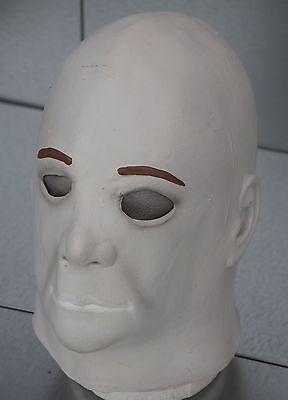 Michael Myers Halloween-kostüme (Michael Myers Maske Halloween Kostüm Mike Kein Haar Latex Voll Kopf Custom)