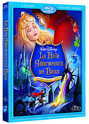 Disney Bella (DISNEY BLU RAY La bella addormentata - 2 dvd slipcover e ologramma)