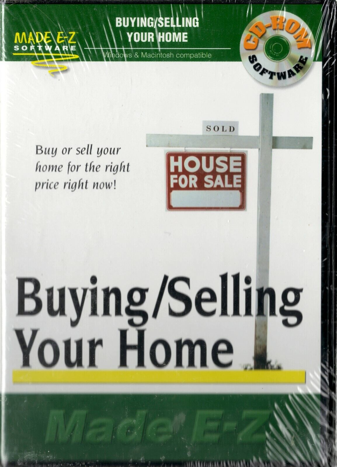 Made E-Z Software - Buying / Selling Your Home - CD-ROM 2001
