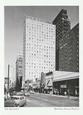 """""""The Adolphus Hotel"""" ...*Historic Dallas Hotels  {Postcard}  (XT-3), used for sale  Shipping to Canada"""