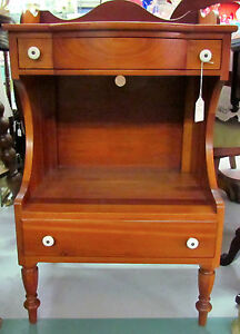Willett Willet Solid Cherry Lamp Table Elswick 1950s