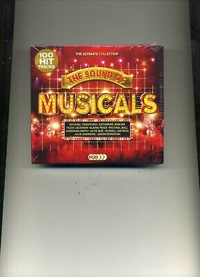 THE SOUND OF MUSICALS - MICHAEL BALL MICHAEL CRAWFORD ALFIE BOE - 5 CDS - NEW!!