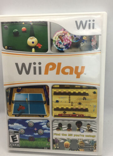 Wii Play Game Complete Nintendo Wii - $6.90