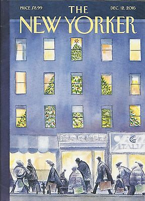 The New Yorker Magazine December 12 2016