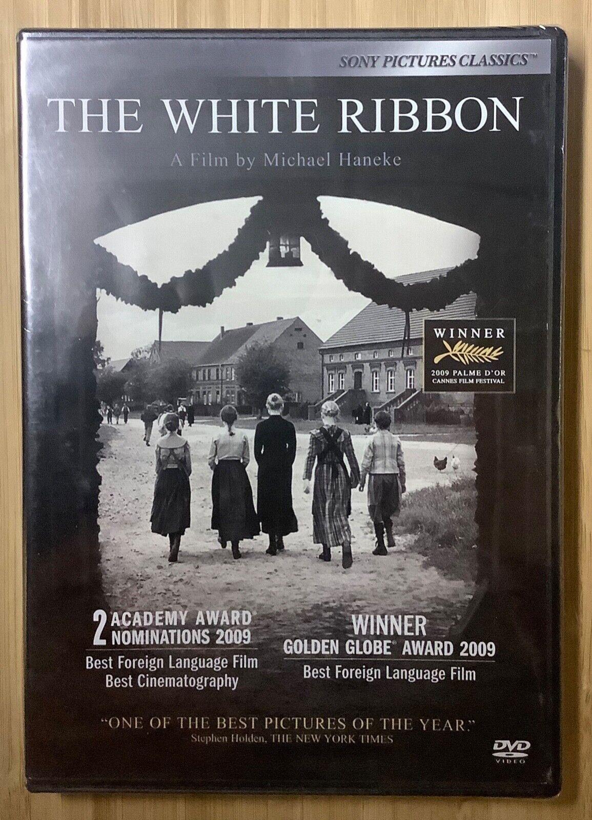 The White Ribbon 2009 DVD Michael Haneke Christian Friedel World War I SEALED - $10.00
