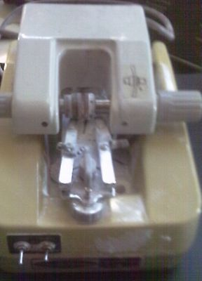 Groovemaster Novamatic System 21 Optical Hand Edger Guarentee