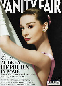 UK VANITY FAIR MAGAZINE May 2013 Audrey Hepburn in Rome a-9