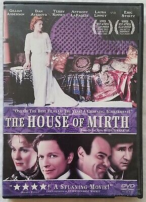 The House of Mirth (DVD, 2001) Like New. Special Features. Free Shipping