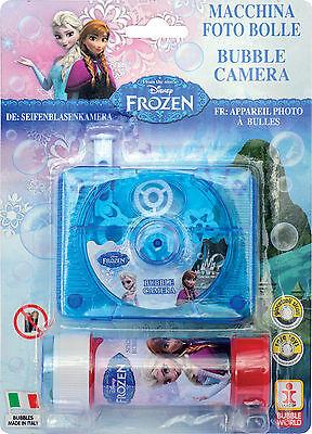 in Seifenblasen Kamera Bubble Fotoapparat Anna Elsa 227070 (Frozen Kamera)