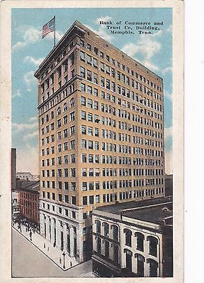Memphis  Tennessee  Pu 1927   Bank Of Commerce And Trust Company Bldg