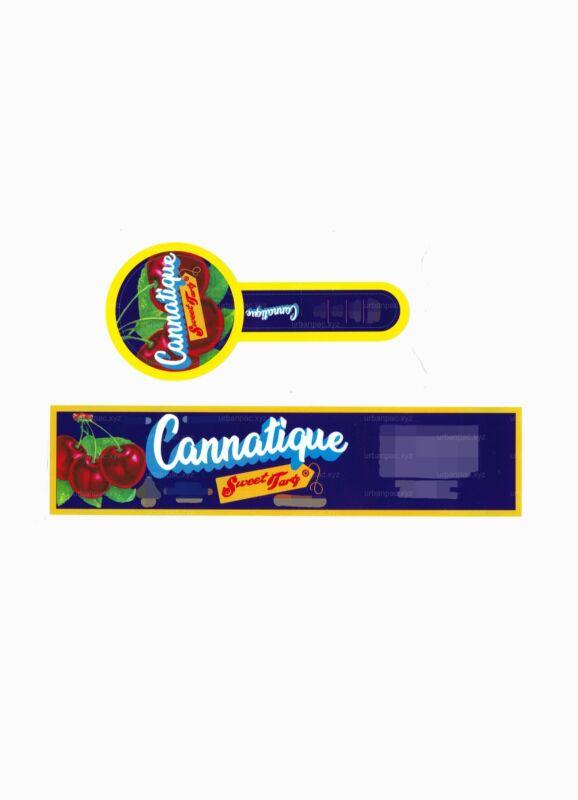 Cannatique - Sweet Tarts Labels