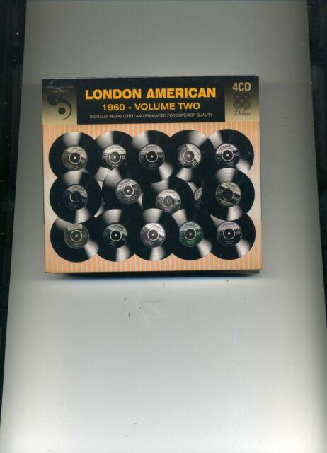 LONDON AMERICAN 1960 VOLUME TWO - EDDIE COCHRAN PAT BOONE DRIFTERS - 4 CDS - NEW