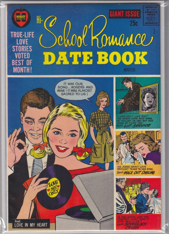 HI-SCHOOL ROMANCE DATE BOOK #3
