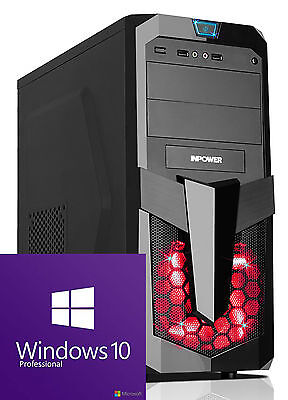 GAMER PC AMD Ryzen 5 1600 GTX 1050Ti 4GB/RAM 8GB/1TB/Windows 10/KomplettSystem