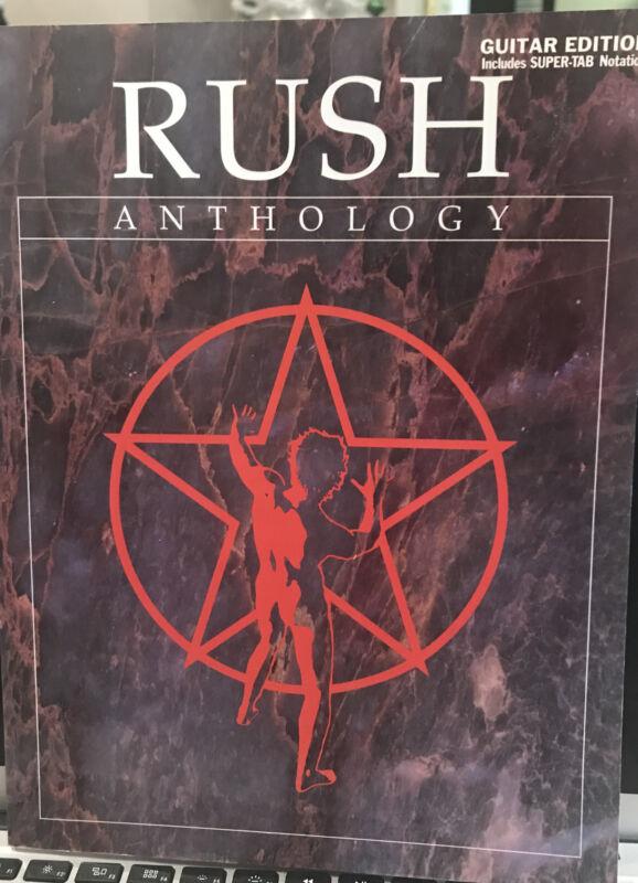 Rush Anthology Guitar Edition
