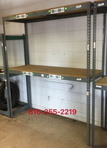 Boltless Rivet Box and Parts Storage Shelving