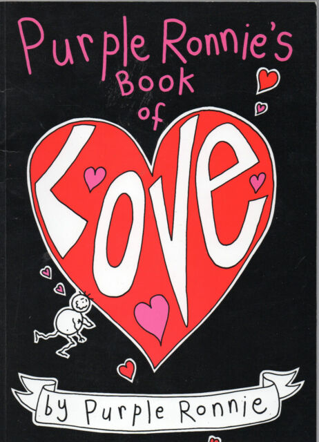 Purple Ronnie's Book of Love by Purple Ronnie (Paperback, 1991)