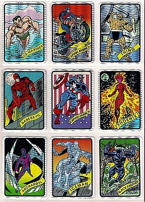 1990 90 Marvel Universe Vending Prism Stickers - SINGLES - PICK ONE or more
