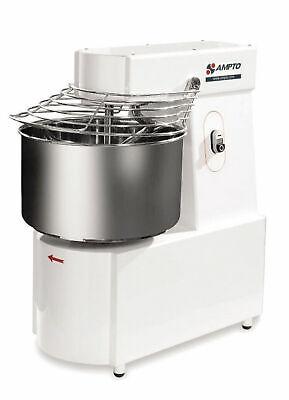Ampto Ama050m Spiral Mixer 50 Lbs. Flour Cap. 2 Speeds. 220601
