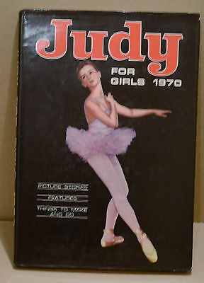 Judy for Girls Annual 1970 DJ Picture Stories Things to Make Christmas Birthday