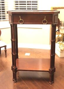 VINTAGE BOMBAY RECTANGULAR END OR SIDE TABLE