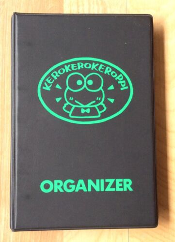 Sanrio KEROPPI Vintage Planner Organizer Datebook Unused Japan 1992 Frog