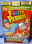 Fruity Pebbles Cereal Box