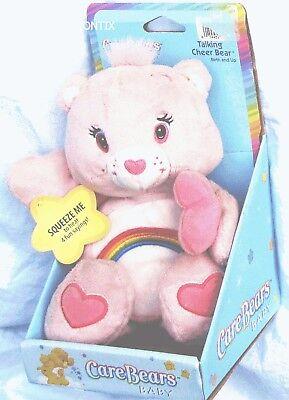 Care Bears Plüsch Baby Sprechen Cheer Pink 9