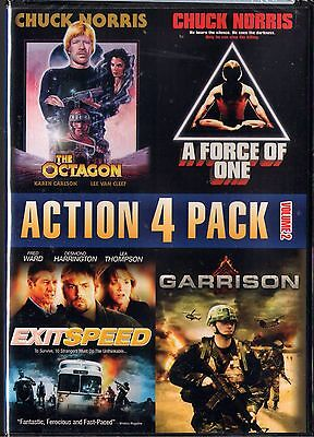 Action 4 Pack, Vol. 2 (DVD ) The Octagon / A Force of One/