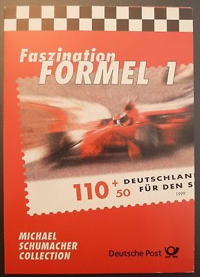 BRD SK SONDERKARTE FORMEL 1 MICHAEL SCHUMACHER FERRARI AUTO RACING z2361