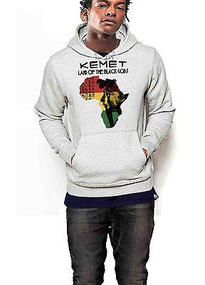 Kemet Hoodie Ancient Egypt Black History Month African Pride Pullover Sweater