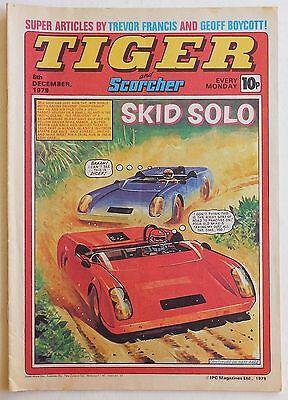 TIGER & SCORCHER Comic - 8th December 1979