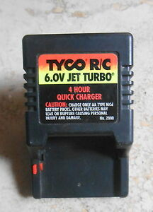 Trasformatore Tyco R/C 6.0v Jet Turbo 6,0 V - Italia - Trasformatore Tyco R/C 6.0v Jet Turbo 6,0 V - Italia