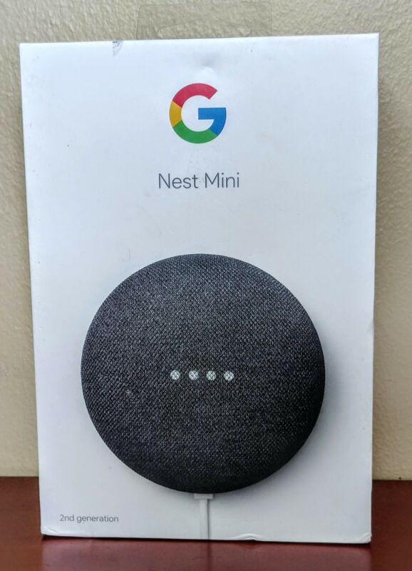 Google Nest Mini (2nd Generation) Smart Speaker with Google Assistant NEW white