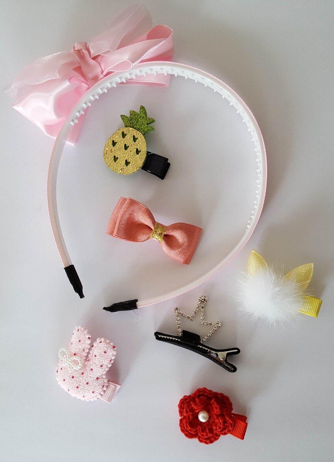 Haarklammer Haarspange Haarreif Geschenk Set Haarschmuck Haar Klammer Spange