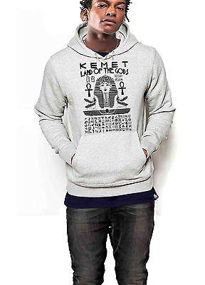 Kemet Hoodie Ancient Egypt Black History Month African Pride Gray Pullover Hood