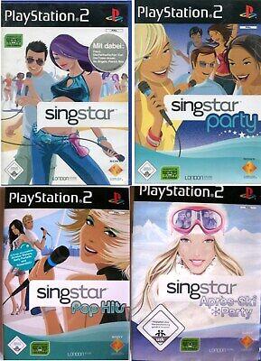 Singstar SING IT PS2 Playstation 2 Die 1. Rock Pop Hits Après-Ski Party Auswahl