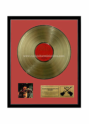 RGM1024 Jimi Hendrix Experience Electric Ladyland Gold Disc 24K Plated LP 12""