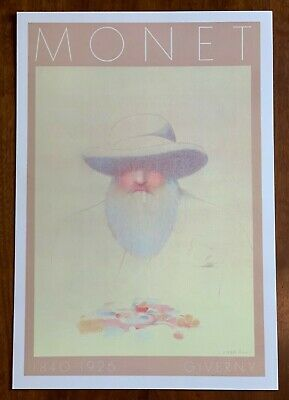 Giverny, Monet-museum (Milton Glaser Lithograph Monet Museum at Giverny)
